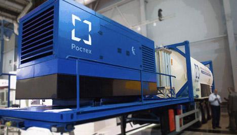 Энергетический прорыв РФ: уникальная мобильная энергоустановка, работающая на СПГ